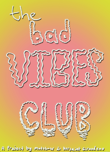 Bad Vibes Club logo.