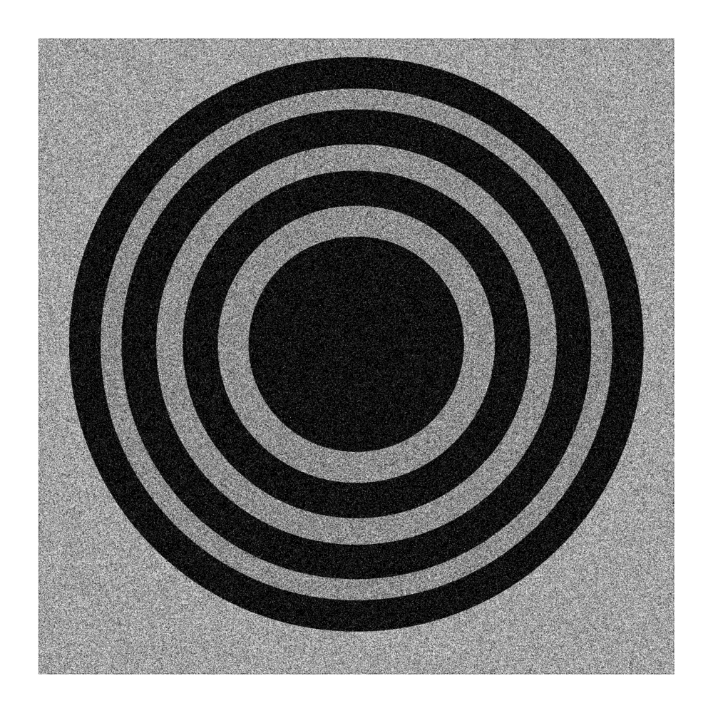 A minimalist illustration of a gong.